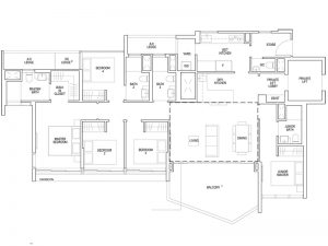 5 BEDROOM - TYPE E1 1,679SQFT